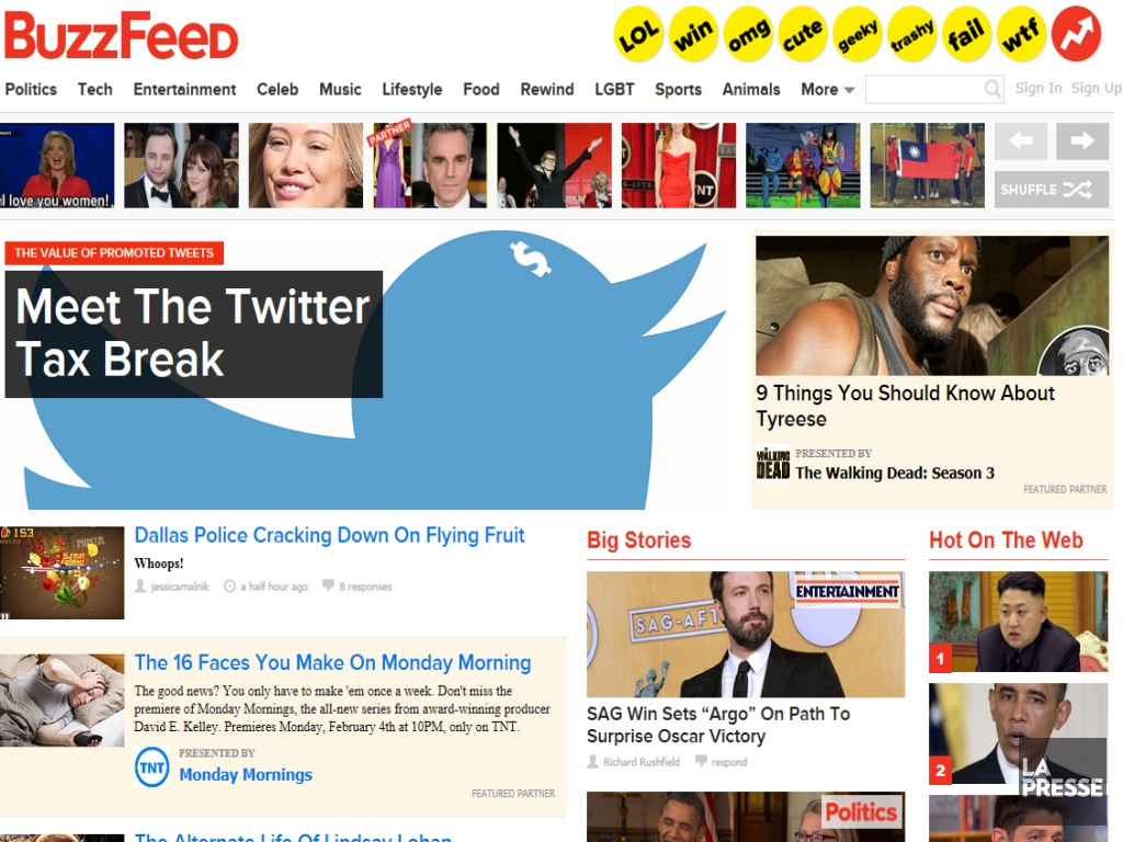 Le «buzz» autour de BuzzFeed