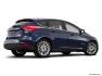 Ford - Focus électrique 2016 - Hayon 5 portes - Plan latéral arrière (Evox)