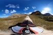 Un mouton filme à 360° les paysages des îles Féroé