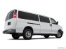 Chevrolet - Express urbaine fourgonnette utilitaire 2018 - LS TA 115 po - Plan latéral arrière (Evox)