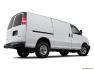 GMC - Fourgonnette Savana tourisme 2018 - Traction arrière 2500 135 po LS - Plan latéral arrière (Evox)