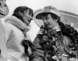 Gilles Villeneuve avec sa femme Joann après sa victoire au... | 1 mars 2011