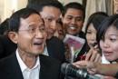 Départ du premier ministre thaïlandais
