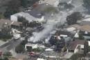 L'écrasement d'un F-18 fait 3 morts à San Diego