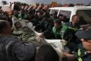 Le flot de blessés s'atténue à Gaza