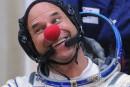 Guy Laliberté en route vers la Station spatiale