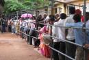 Inde: jouer du coude pour faire un voeu