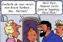 Tintin dans la Belle Province