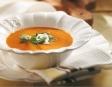 Crème aux carottes et au gingembre