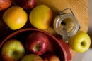 Compote de pommes style «tatin»