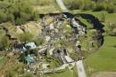 Glissement de terrain en Montérégie: la SQ confirme 4 morts