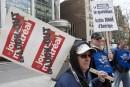 Vague de solidarité envers les lock-outés du <em>Journal de Montréal</em>