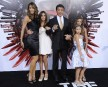 Stallone, heureux de son entourage féminin