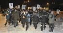 LOCK-OUT JOUR 1 (1 janvier) Les travailleurs ont traversé les quelques... | 1 janvier 2012
