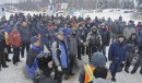 31 DÉCEMBRE Une centaine de syndiqués étaient au poste samedi après-midi.... | 1 janvier 2012