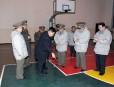 En visite à l'École révolutionnaire de Mangyongdae dans le cadre... | 9 février 2012