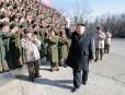 Kim Jong-un passe en revue l'immense Unité 324.... | 9 février 2012