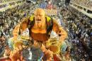 Parade à Rio de Janeiro, au Brésil.... | 22 février 2012