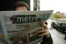 Transcontinental devient le seul propriétaire du journal <em>Métro</em> de Montréal