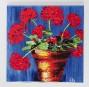 Tuile en céramique Géranium, 29.95$. Scrupule, 1290, rue Fleury Est.... | 16 mars 2012