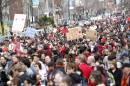 Manif «pour un printemps québécois»