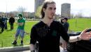 Conflit étudiant: les «verts» manifestent à Québec