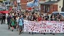 Des manifestants au rendez-vous à la Fête du lac