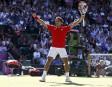 Le Suisse Roger Federer a remporté un match marathon contre... | 3 août 2012