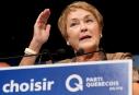 Un gouvernement minoritaire ferait reculer la souveraineté, dit Marois