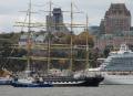 Le voilier russe Kruzenshtern, l'un des deux plus grands quatre... | 7 octobre 2012