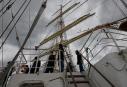 Sur le voilier russe Kruzenshtern... | 7 octobre 2012