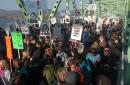 2000 manifestants contre la réforme de l'assurance-emploi dans l'Est