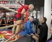 Lors d'une séance d'entraînement public jeudi au gymnase Tristar, deux... | 1 novembre 2012
