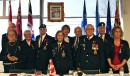 La députée fédérale, Lise St-Denis, a attribué neuf médailles du... | 13 novembre 2012
