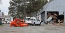 Les murs de deux granges et d'un garage ont été... | 23 novembre 2012