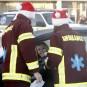 De nombreux membres des médias ont bravé le froid, jeudi... | 6 décembre 2012