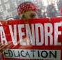 Illustration du désaccord des étudiants avec la vision de l'éducation... | 19 décembre 2012