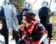 Une imposante présence des forces policières, des grévistes venus de... | 25 décembre 2012