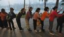 Séance de massage collectif à Hanoi au Vietnam... | 28 décembre 2012