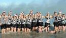 Plusieurs personnes ont pris part à la traditionnelle baignade du... | 1 janvier 2013