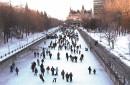 Premiers coups de patins sur le canal Rideau (en vidéo)