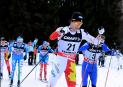 Sixième étape du Tour de ski: Alex Harvey sur le podium avecLen Valjas
