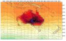 Il fait chaud en Australie, cette tache mauve au centre... | 8 janvier 2013