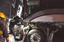 Un accident d'autobus sur la route 132 à Grosses-Roches fait un blessé grave