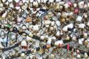 Les cadenas du pont des arts à Paris... | 21 janvier 2013