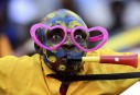 Supporteur coloré à la Coupe des nations de soccer en... | 25 janvier 2013