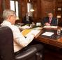 Séance d'information avec le leader à la Chambre, le ministre... | 29 janvier 2013