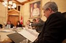 En rencontre avec les ministres et la haute direction.... | 29 janvier 2013