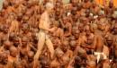 Des «Naga Baba», disciples de Shiva, lors d'un rituel en... | 31 janvier 2013