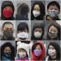 Des résidants de Beijing portent des masques pour affronter la... | 31 janvier 2013